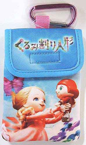 B-Booksは デポー いつでも送料無料 特価品コーナー☆ サンリオ こども くるみ割り人形 女の子 カラビナポーチ 人形の国