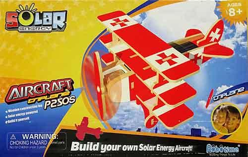 特価キャンペーン おもちゃ 送料無料 PS250カラー三葉機 動く木製3Dパズルキット ファクトリーアウトレット