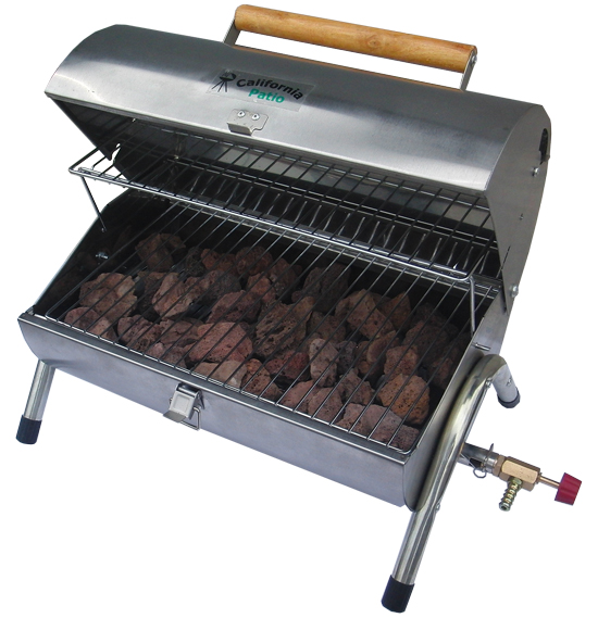 "LP gas lava stone Grill handy SS Tank ""dedicated outdoor' BBQ Grill"