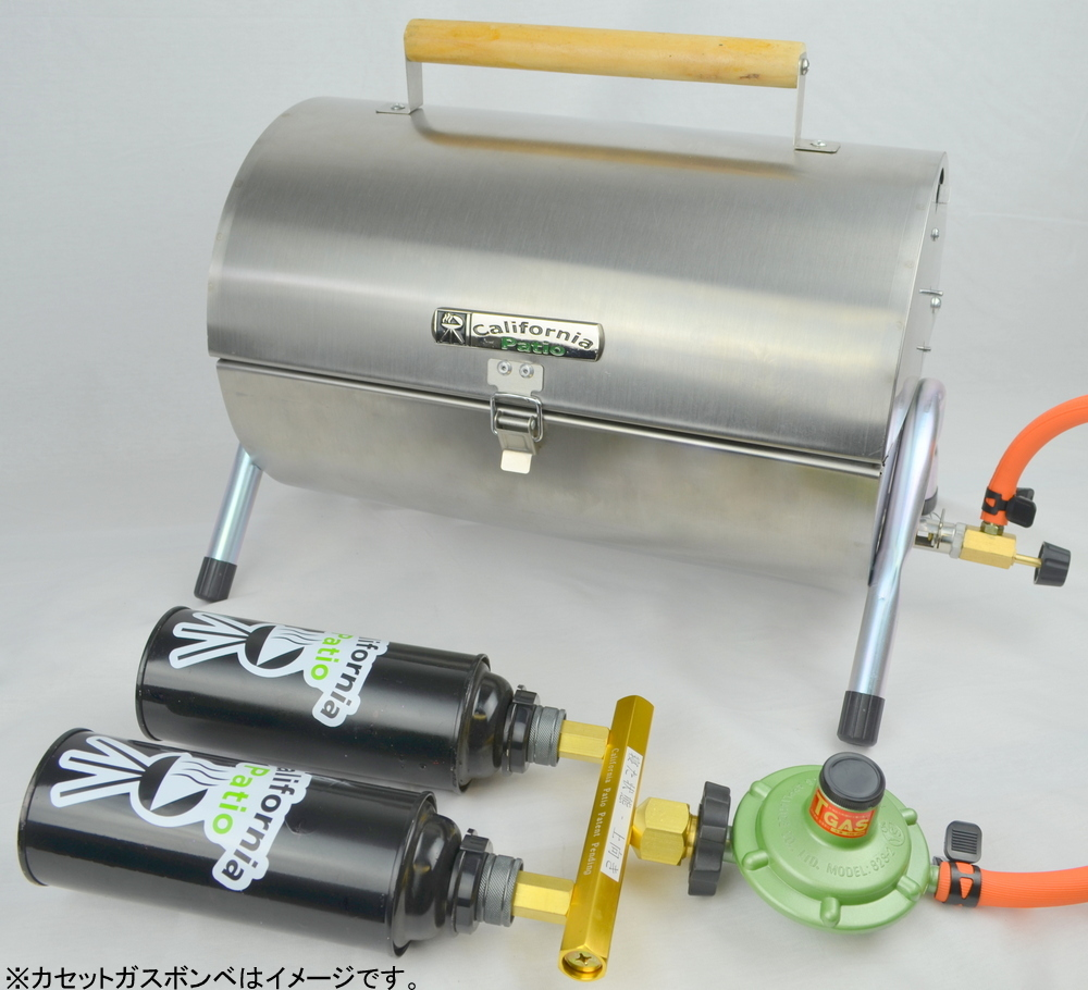 LP 气体熔岩石烧烤方便 SS 坦克卡带适配器设置 '私人室外' 烧烤烧烤