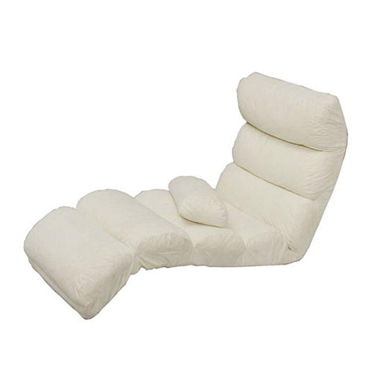 【送料無料】フロアチェア ZCM-5 アイボリー・ブラウン 座椅子 フロアチェア sa-ti223 一人暮らし 家具 新生活