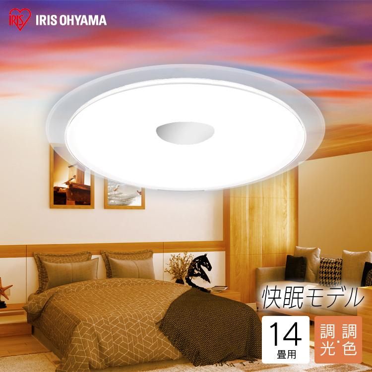 LEDシーリングライト サーカディアン 14畳 6099lm CL14DL-S-FEIII アイリスオーヤマ