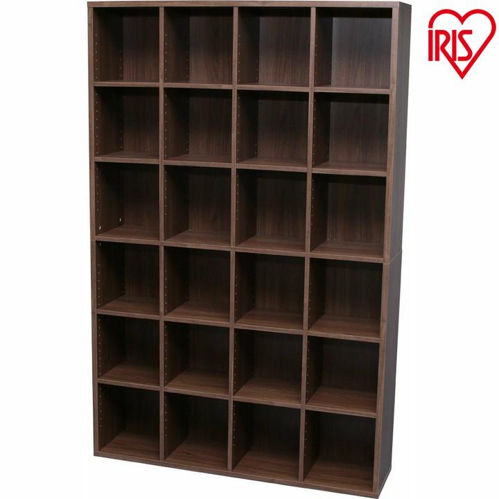 本棚 大容量 ブックシェルフ BKS-1812送料無料 本棚 大容量 ブラウン シェルフ 木製 ラック おしゃれ 北欧 ディスプレイラック 飾り棚 オフホワイト ウォールナット アイリスオーヤマ 一人暮らし 家具 新生活 (bbss)