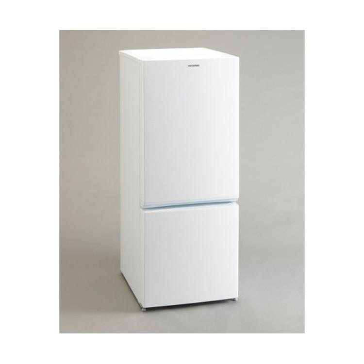 ノンフロン冷凍冷蔵庫 156L ホワイト AF156-WE送料無料 2ドア 右開き 冷凍庫 一人暮らし ひとり暮らし 単身 白 シンプル コンパクト 小型 省エネ 節電 アイリスオーヤマ