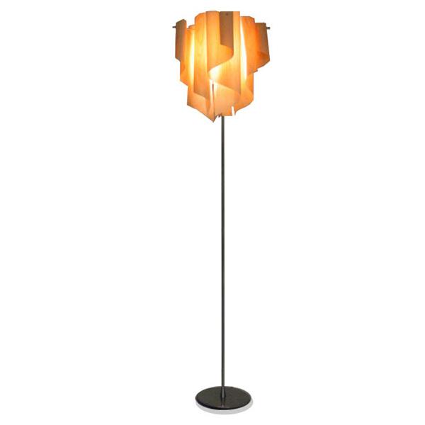 【送料無料】DI CLASSE(ディ クラッセ) Auro-wood floor lamp LF4200WO【TC】【照明 インテリア リビング フロアランプ ライト 間接照明 北欧 ナチュラルテイスト モダン】【送料無料