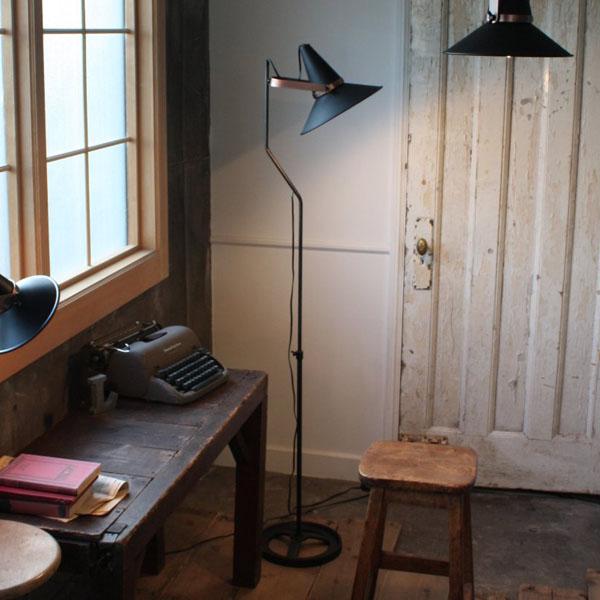 【送料無料】StudioD スタジオD フロアランプ BK F L LF4463BK【TC】【DI CLASSE・照明器具ランプ 照明 ペンダントライト インテリア おしゃれ デザイン 魔法使い 帽子ダイニングテーブル キッチン】