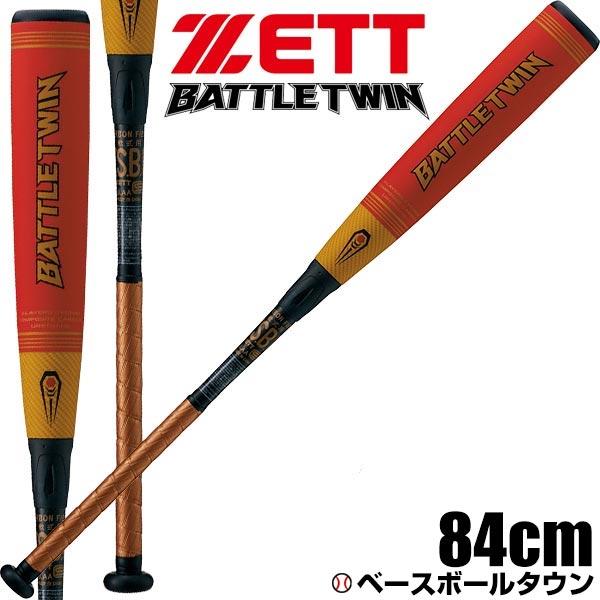 バトルツイン 送料無料 野球 バット 軟式 一般用 20%OFF ゼット コンポジット 84cm 700g平均 ヘッドバランス ゴールド/レッド BCT30804 あす楽 ラッピング不可