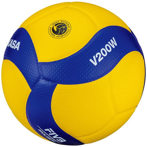 最大10%引クーポン バレーボール 5号球 国際公認球 ミカサ MIKASA V200W