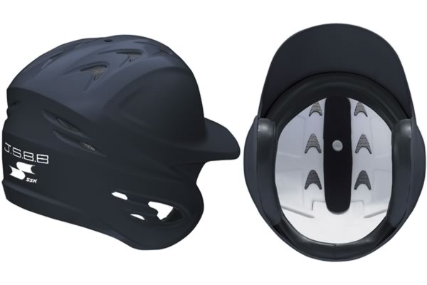 <野球用品/ヘルメット>SSK(エスエスケイ)軟式用両耳付き(艶消し)H2100M