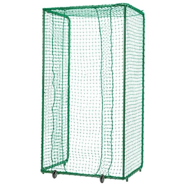 最大10%引クーポン ミズノ 野球 マシン投球者用ネット(キャスター付) 1GJNA10800