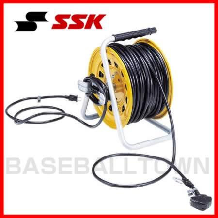 最大14%引クーポン SSK 野球用品 グラウンド備品 逆配線コードリール コード長さ30m SGR81