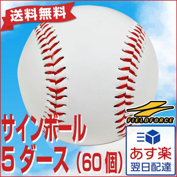 全品8%引クーポン 野球 サインボール 硬式球デザイン 60個売り 個包装済み FSB-0905 5ダース 卒団 卒業 記念品 記念グッズ 寄せ書き FSB-0905T フィールドフォース