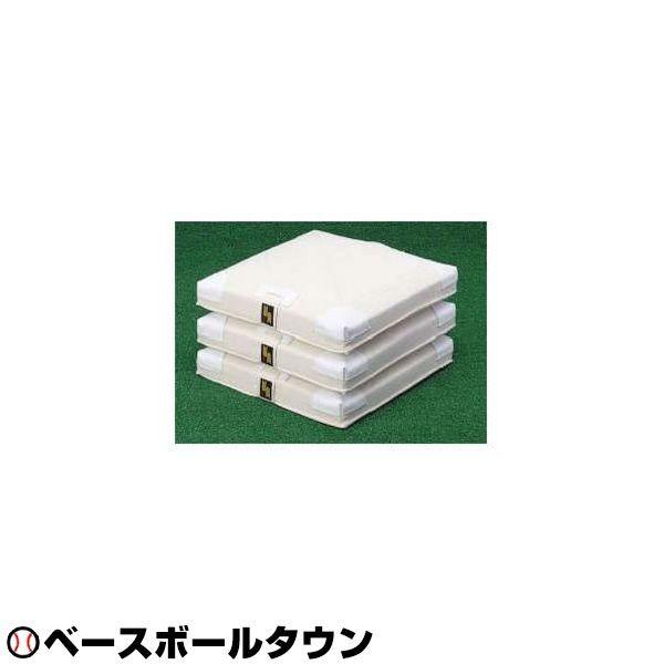 最大1500円引クーポン 送料無料 SSK 野球用品 軟式・ソフトボール兼用塁ベース 3枚組 YM16 取寄