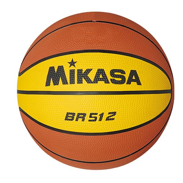 MIKASA ラッピング無料 最大10%引クーポン ブランド買うならブランドオフ ミカサ ミニバスケットボール5号 ゴム BR512 小学生