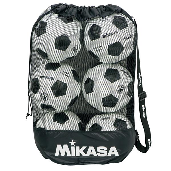 MIKASA あす楽 ミカサ 日本メーカー新品 ボールバッグ メッシュ巾着型 祝開店大放出セール開催中 サッカー バレーボール 中 バスケットボール MBAS