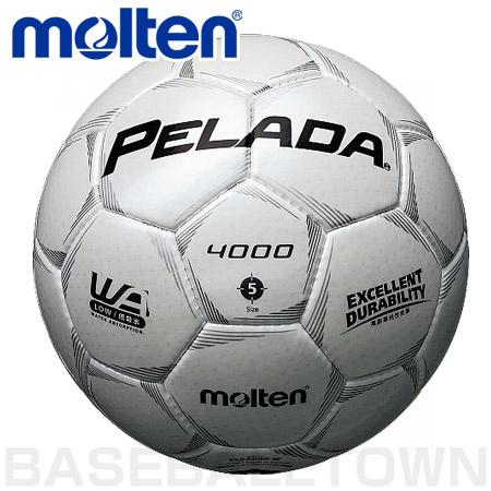 モルテンフットボールペレーダ40005号球シャンパンシルバー