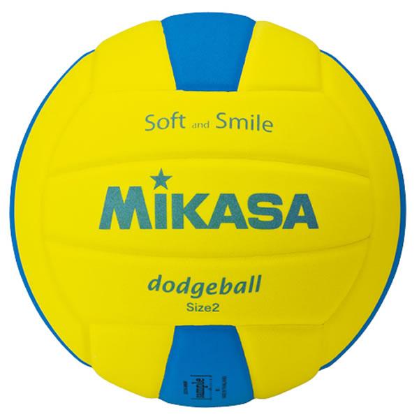 MIKASA ドッジボール ミカサ スマイルドッジボール2号 全品最安値に挑戦 EVA 重量約160g 取寄 売店 RakutenスーパーSALE ブルー スーパーSALE SDB2-YBL イエロー