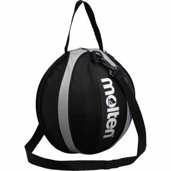 新着 molten あす楽 最大10%引クーポン ボールバッグ NB10KS 黒×シルバー モルテン バスケットボール1個入れ 正規逆輸入品
