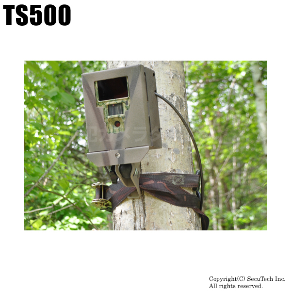防犯カメラ・監視カメラ【TS500】不法投棄監視カメラ
