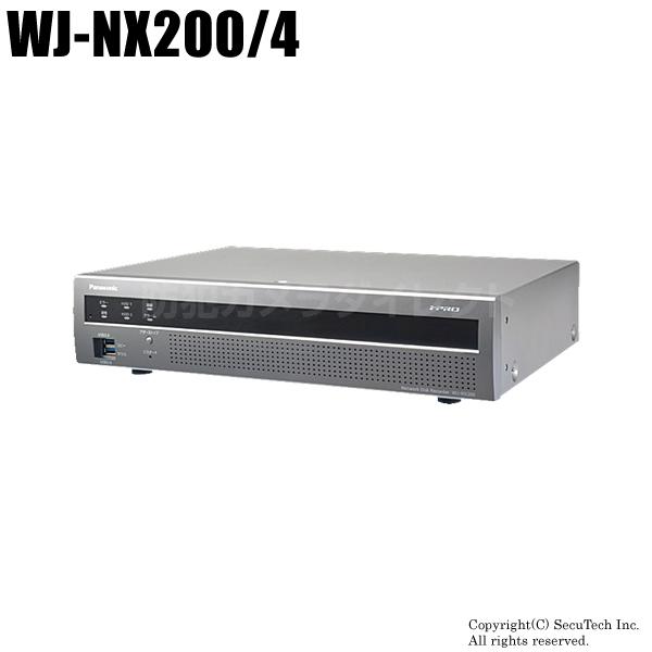 【WJ-NX200/4】i-PROエクストリーム NWディスクレコーダー(4TB)(代引不可・返品不可)