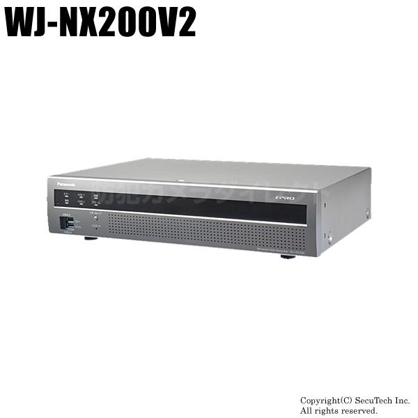 【WJ-NX200V2】i-PROエクストリーム NWディスクレコーダー(2TB/DVD)(代引不可・返品不可)