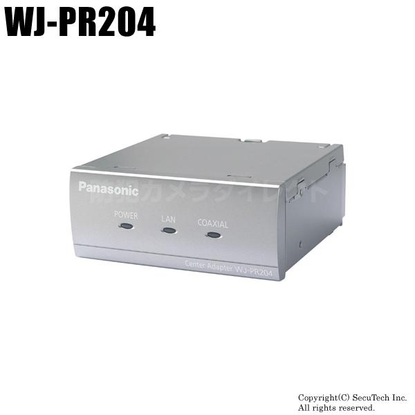 防犯カメラ Panasonic PoE給電機能付 同軸-LANコンバーター(4チャンネル)(代引不可/返品不可)【WJ-PR204】