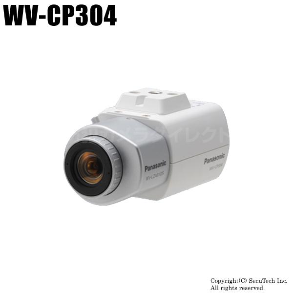 防犯カメラ Panasonic CCTVシリーズ SRプロセッサ搭載 コンパクト監視カメラ (レンズ・取付金具別売)(代引不可/返品不可)【WV-CP304】