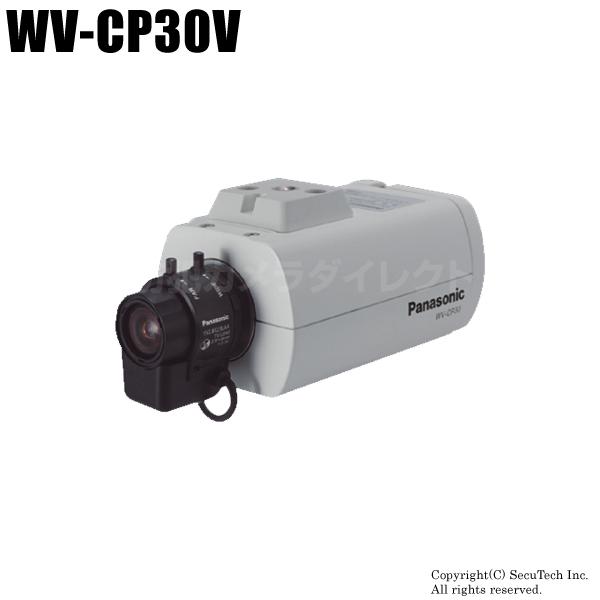 防犯カメラ Panasonic CCTVシリーズ カラーテルックカメラ レンズ付・取付金具付(代引不可/返品不可)【WV-CP30V】