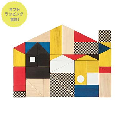 【送料無料】miller goodman ミラー グッドマン Blockhaus ブロックハウス 積み木 木製パズル