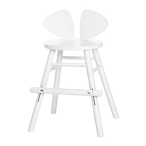 【送料無料】Nofred ノーフレッド Mouse Chair Jr.キッズダイニングチェア (ホワイト)