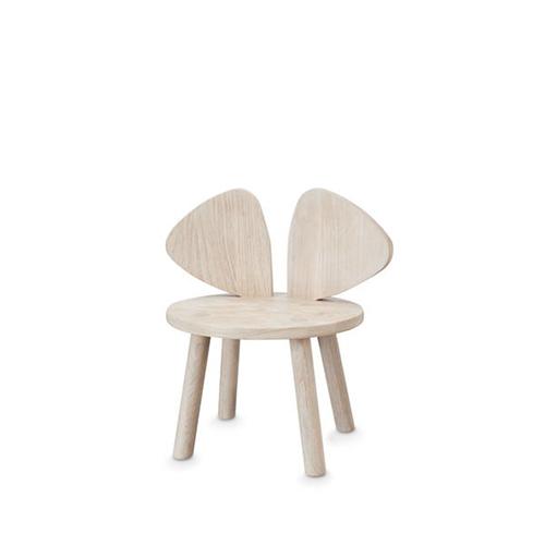 【送料無料】ベビーチェア 木製 キッズチェア 子ども椅子 Nofred ノーフレッド Mouse Chair 北欧 (オーク)