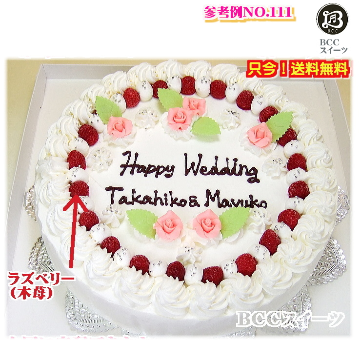 大きい ケーキ 10号 19人分 No,111 生クリーム ウエディングケーキ 二次会 オーダー ウエデイング オーダー 大きいケーキ パーティー 送料無料 誕生日ケーキ バースデーケーキ 結婚記念日 プレゼント名入 還暦祝い フルーツケーキ