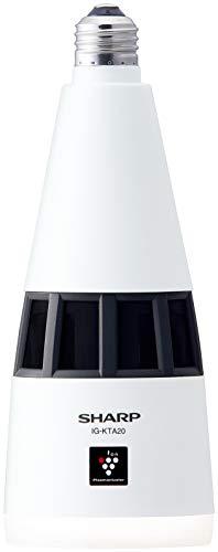 シャープ プラズマクラスター イオン発生機 トイレ用 天井 新色追加 LED 照明 E26口金 当店は最高な サービスを提供します ホワイト IG-KTA20-W