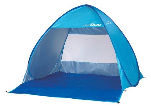 キャプテンスタッグ(CAPTAIN STAG) テント シャイニーリゾートポップアップ テント デュオUV ブルー[1-2人用] M-5787