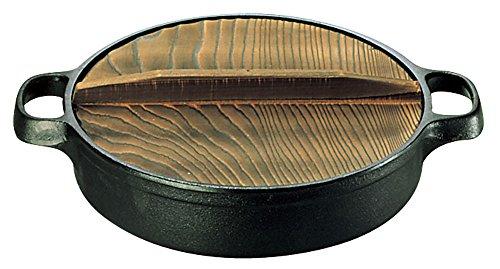 及源鋳造 盛栄堂 人気急上昇 すきやきぎょうざ兼用鍋 24 CA-3 鋳鉄 QSK73003 大規模セール 日本