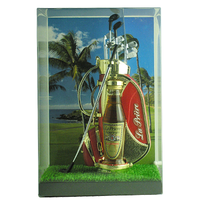 ギフトにもオススメ ラ プリエール ゴルフ ミニセット 安売り レッド 12度 4986616709444 AL完売しました L50 09001 25ml