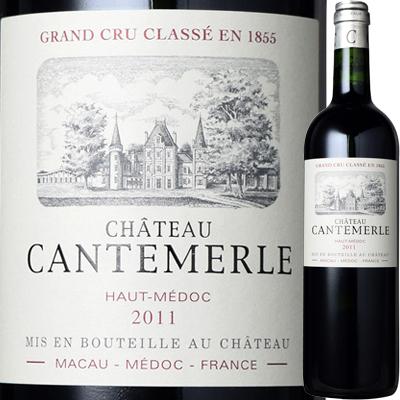 シャトー・カントメルル [2011] 4997678438753【04001】【フランス】【赤ワイン】【1908】【strw】【F14】