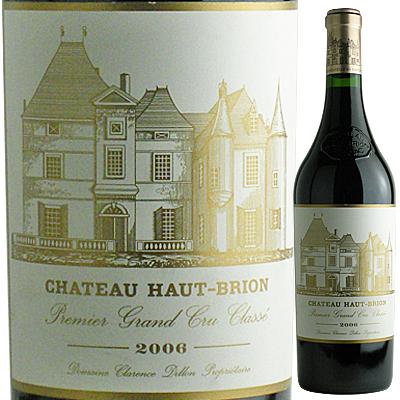 シャトー・オー・ブリオン 赤 [2006] Chateau Haut Brion Rouge(A.O.C.ペサック・レオニャン) 4997678542726【04001】【送料無料】【フランス】【F6】