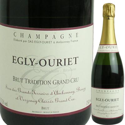 エグリ・ウーリエ ブリュット・トラディション グラン・クリュ 2200020005322【05001】【フランス】【シャンパン】【strw】【F2】