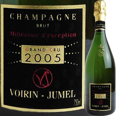 ヴォワラン・ジュメル シャンパーニュ ブリュット ミレジム [2005] 4589624096157【50001】【送料無料】【フランス】【シャンパン】【泡】【R112】【F35】