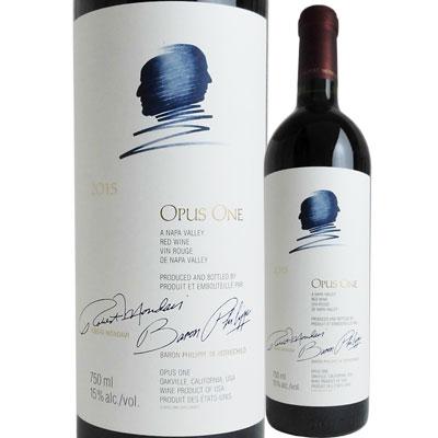 オーパス・ワン [2015] 4582345698006【送料無料】【アメリカ】【赤ワイン】【オーパスワン2015】【Opus One】【11001】【1805】【U39】