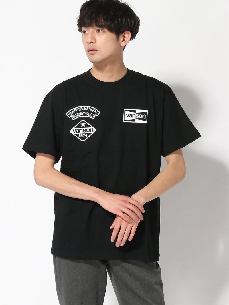 BC_SALE INHERIT SIMPLICITE 上品 メンズ カットソー インヘリット サンプリシテ VANSON Rakuten Fashion Tシャツ ホワイト ブラック S 30%OFF お得セット RBA_E SALE S-T M B
