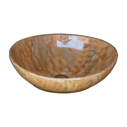 洗面ボウル 陶器 オンカウンター 置き型 オーバル 楕円 シェルパターン フレッシュ 幅41×奥行33×高14cm INK-0403178H