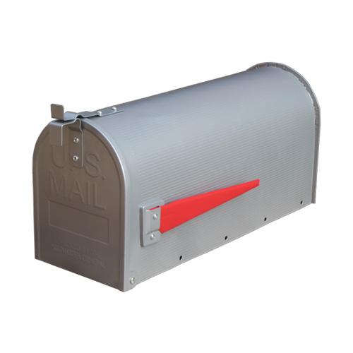 使い勝手の良い ポスト 贈与 郵便受け スタンド レトロ アンティーク シルバー おしゃれ アメリカンポスト 幅18.5×奥行51.5×高23.5cm INK-1501032H