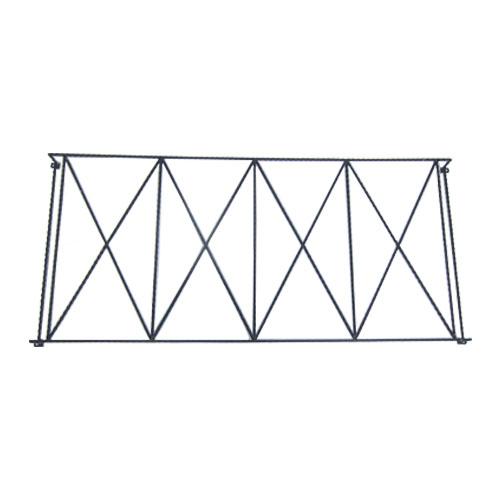 面格子 窓 ロートアイアン プロヴァンス風 幅186cm INK-1401219H