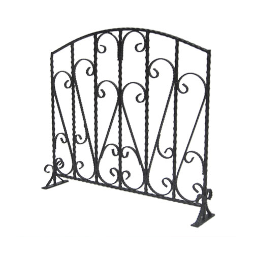 フェンス 柵 ロートアイアン プロヴァンス風 幅83cm INK-1401220H