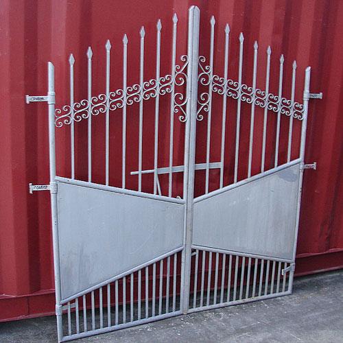 門扉 (両開き) ゲート ロートアイアン スペイン製 幅160cm INK-Amonpi29