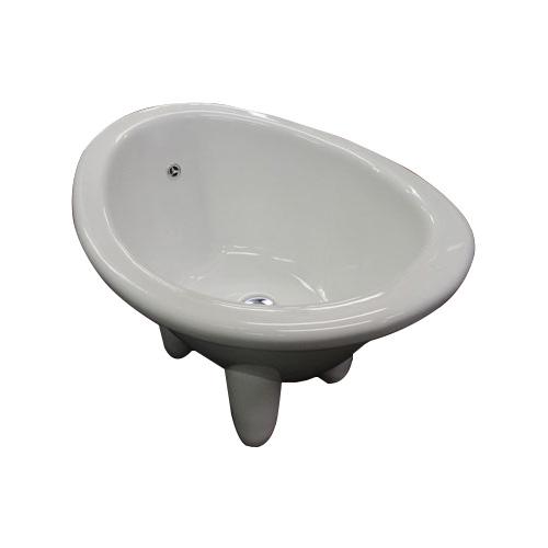 ペット用 陶器製 バスタブ アンティーク ペット用 陶器 バスタブ 幅65cm INK-0403001H