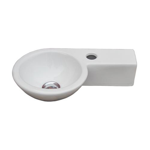 洗面ボウル おしゃれ 陶器 オンカウンター 置き型 幅40×奥行24×高9cm INK-0405054H