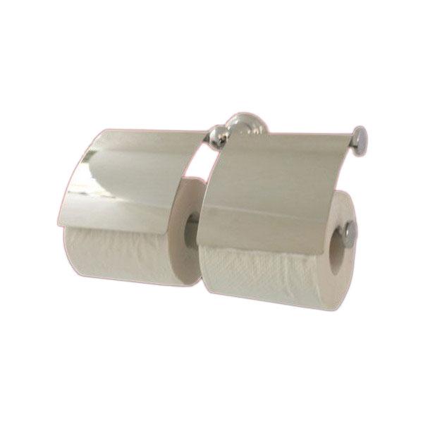 ペーパーホルダー 紙巻器 ダブルロール シルバー(銀) 幅29cm INK-0801032H